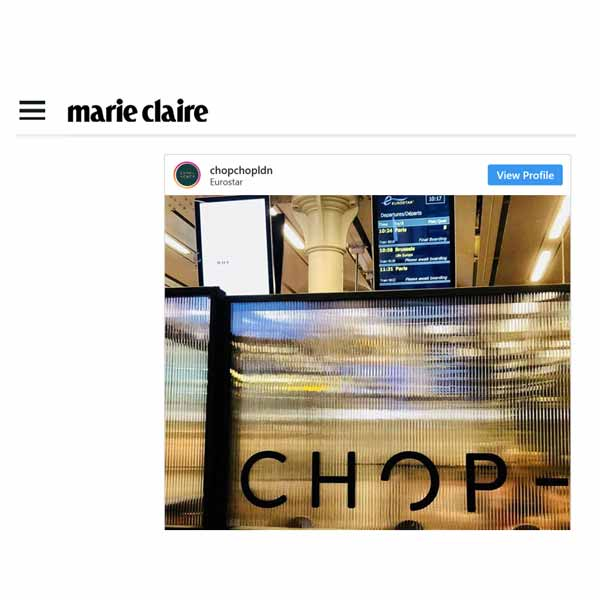 chop chop press marie claire